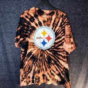 Steelers Acid Washed Tee